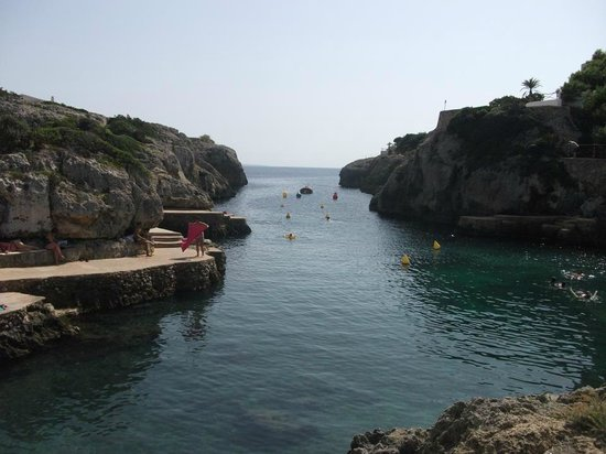 Talayot: one of the beautiful coves, this isnt the pirates cove but pirates coves has more to offer for k
