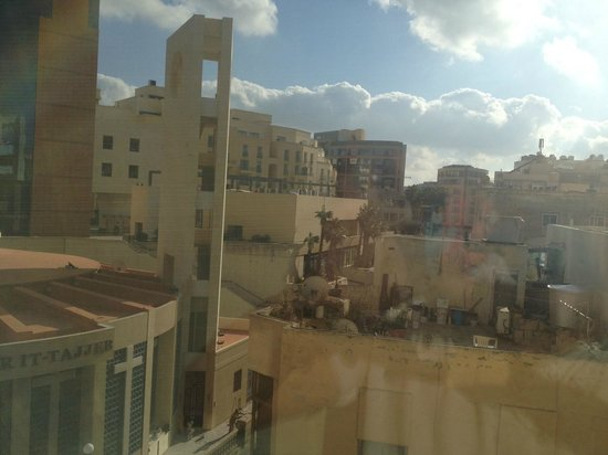 Alexandra Hotel Malta: view from the kitchen