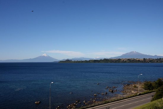 Hotel Cumbres Puerto Varas: View from room´s window