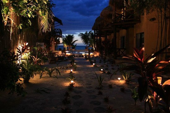 Holbox Dream Beach Front Hotel by Xperience Hotels: Beautiful sunsets, different every day.