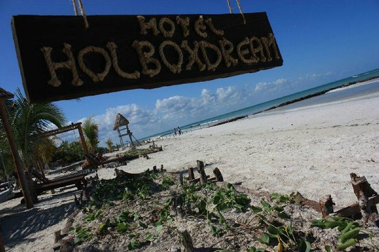 Holbox Dream Beach Front Hotel by Xperience Hotels: Holbox Dream Entrance