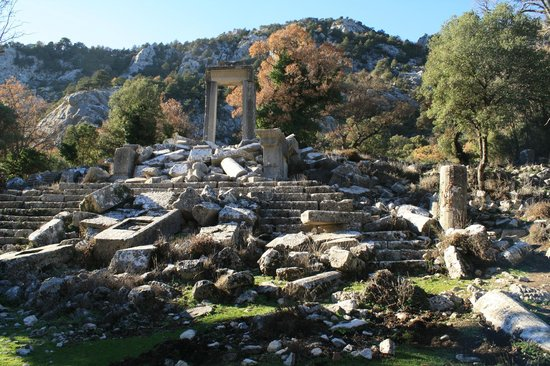 Termessos : next to the last parking place
