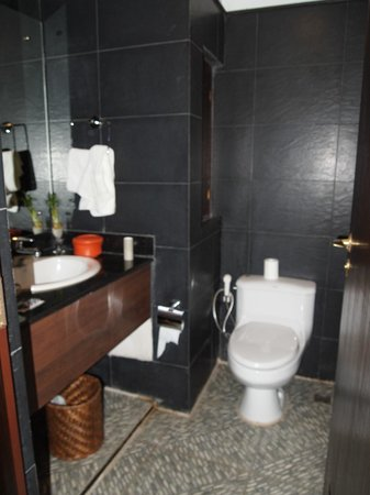 Hotel Tibet International: King suite bathroom