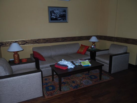Hotel Tibet International: Lounge