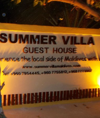 Summer Villa Guest House: Hotel entrance
