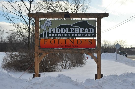 Fiddlehead Brewing Company: Fiddlehead & Folinos