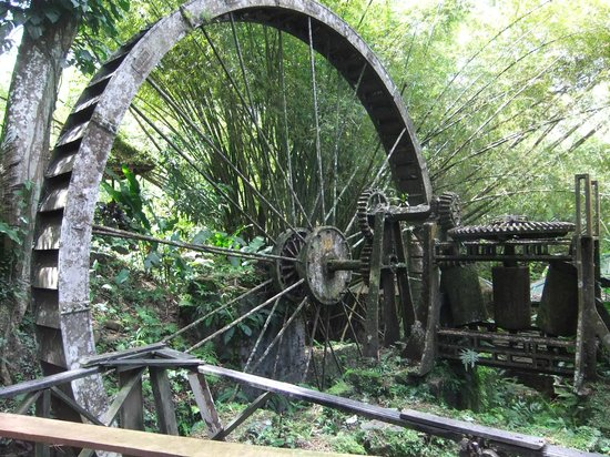 water wheel picture of arnos vale waterwheel and nature park