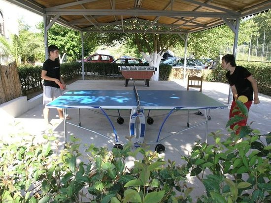Elina Hotel: PING PONG -PLAY AREA