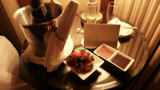Four Seasons Resort and Residences Whistler: Happy Anniversary gift from the hotel