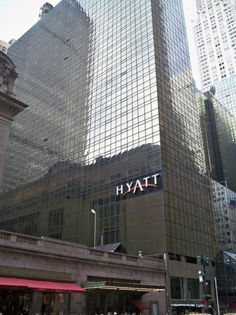 ‪‪Grand Hyatt New York‬: Außenansicht direkt neben der Grand Central Station