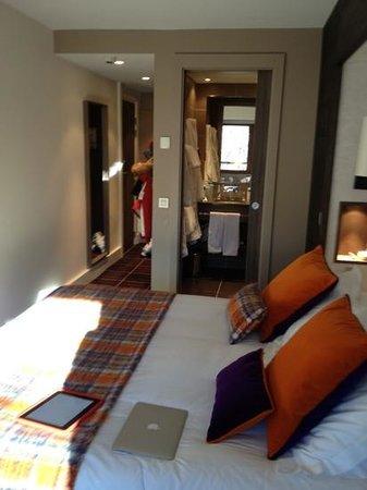 Hotel Le Savoy : номер 22 кв метра