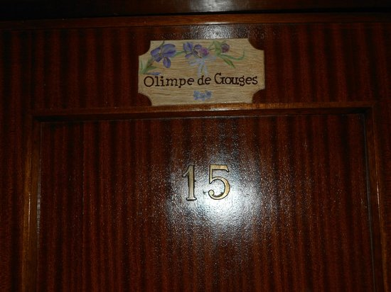 Hotel Albion : mi habitacion: Olimpe de Gouges