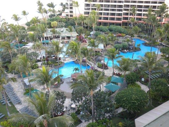 Marriott's Maui Ocean Club  - Lahaina & Napili Towers : The main pool
