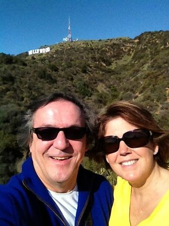 Hollywood Bed & Breakfast: Hollywood sign in the Beachwood Canyon