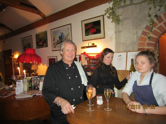 The Dering Arms : Friendly owners and staff made an excellent visit