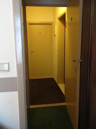 Hotel 't Voermanshuys: entrada de la Habitación No 7