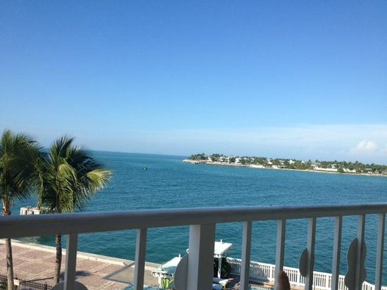 Ocean Key Resort & Spa, A Noble House Resort: View from our room