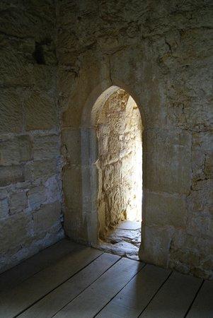 Bodiam Castle: Turmraum