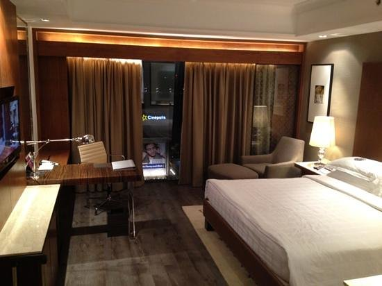 my room with shopping mall view
