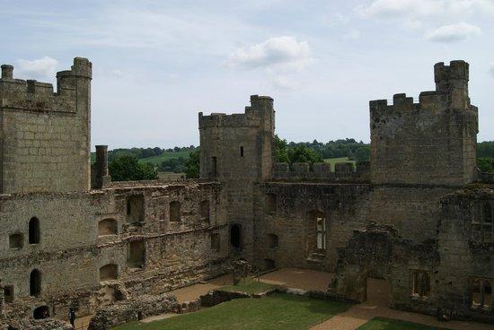 Bodiam Castle: Innenseite der Burg