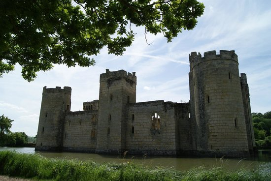Bodiam Castle: Aussenaufnahme