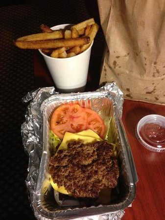 Five Guys: good even without a bun