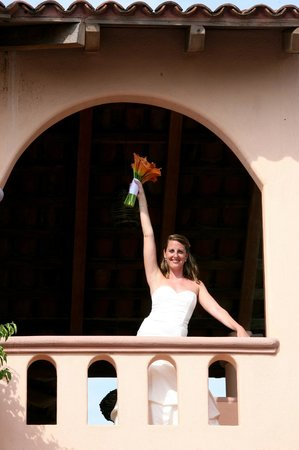 Casa de La Sirena: Bride from 3rd floor mini villa