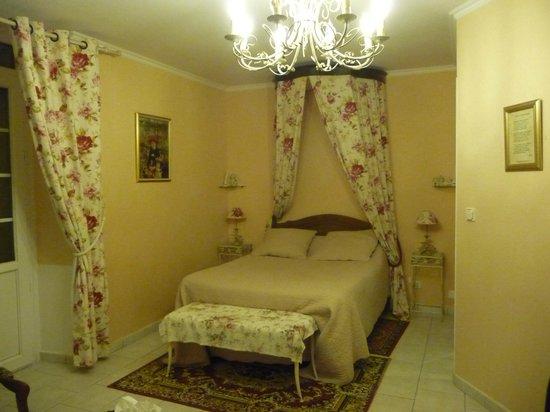 Domaine Aurore de Beaufort: Vue sur le lit
