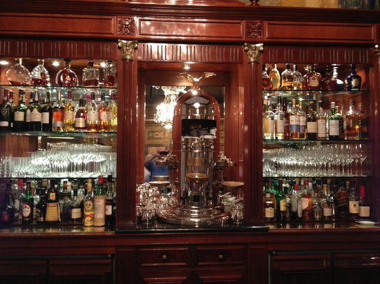 Alvear Palace Hotel: Bar at the AHP hotel