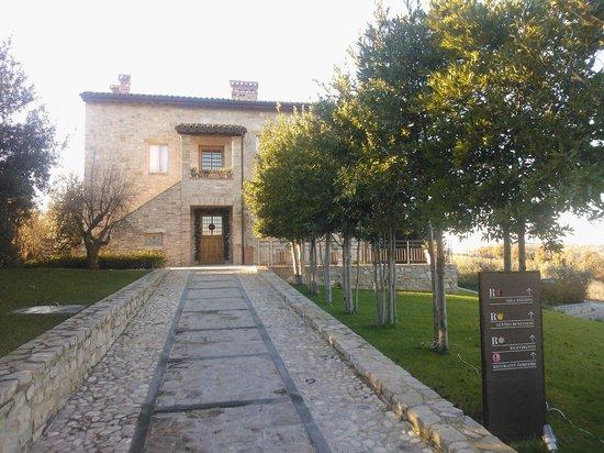 Roccafiore Spa & Resort: L'ingresso del Roccafiore