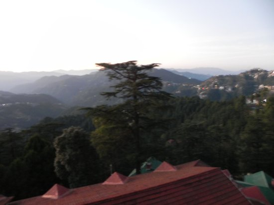 The Oberoi Cecil, Shimla: view from our balcony