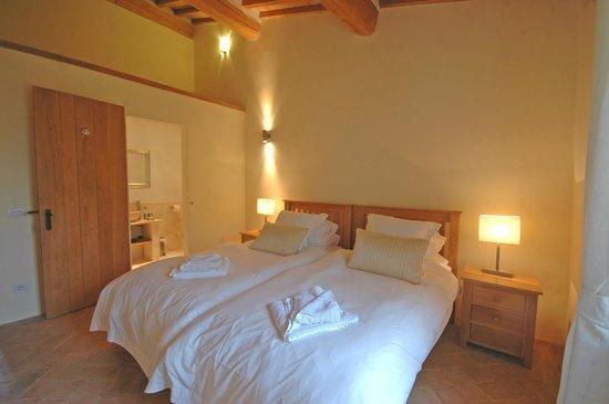 La Casina: Twin bedroom