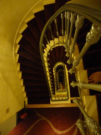 Hotel François Premier : Escaliers