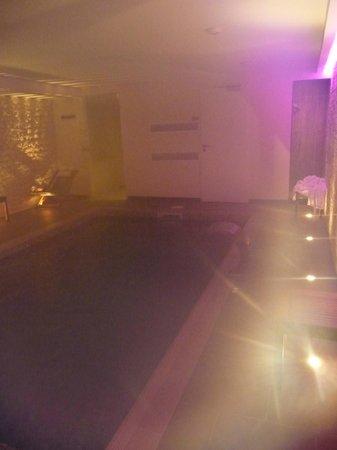 Hotel François Premier : Piscine en sous sol