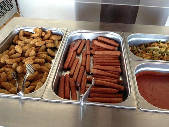 Eix Lagotel: Snackbar