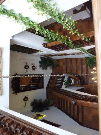 Hotel San Gabriel: stairs