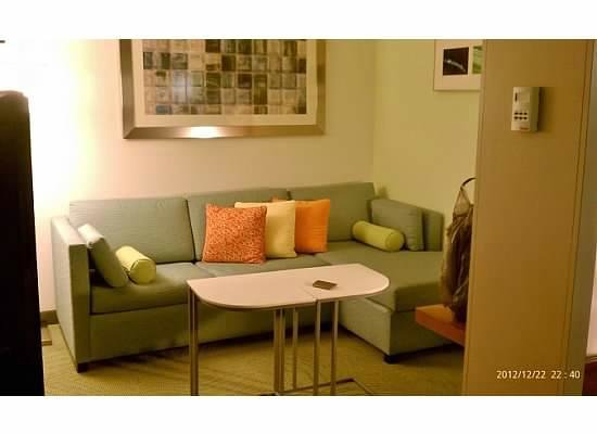 SpringHill Suites Columbia Downtown/The Vista: Sitting area