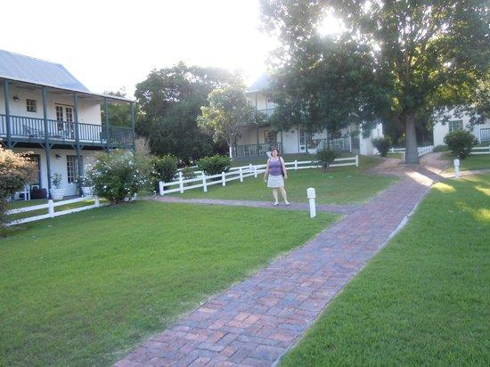 Belvidere Manor: tuin