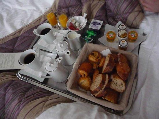 Hotel François Premier : Petit déjeuner