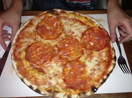 Ristorante Birreria Pizzeria Galilei: пицца diavola