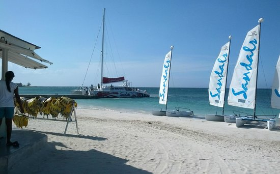 Sandals Montego Bay: Variety of sea craft