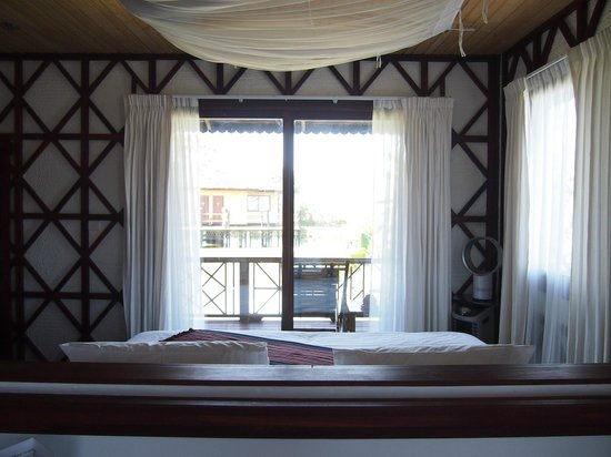 ViewPoint Lodge & Fine Cuisines :                                     View from room w/ bed