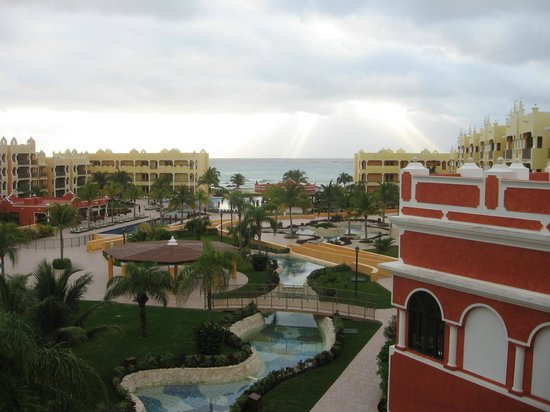 The Royal Haciendas, All Inclusive, All Suites Resort: Gorgeous view from our balcony