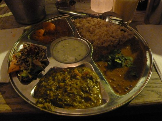 Thali Cafe Clifton : Northern Thali