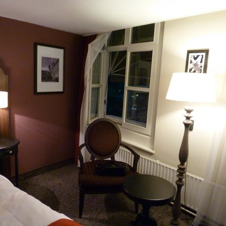 Boutique Hotel Corona: The room