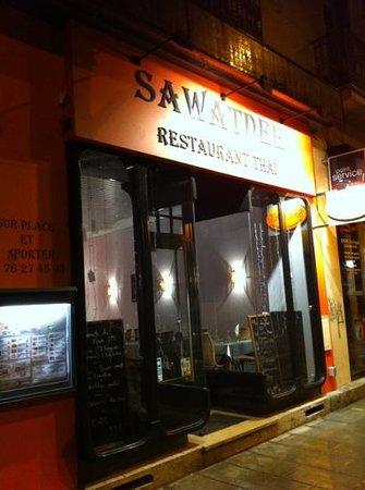 le restaurant Sawatdee