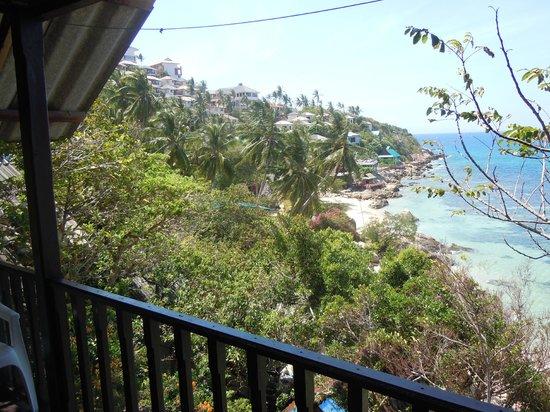 Sunset Buri Resort: Panorama dalla terrazza della stanza