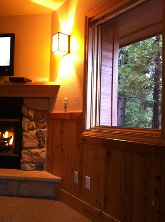 Mount Shasta Resort: Living room