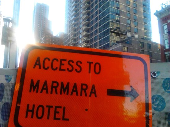 The Marmara Manhattan: hotel