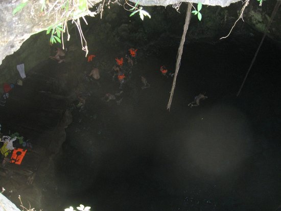 Cuzama Sinkhole Tour - Best Day Travel (Day Tour): Floating in the water